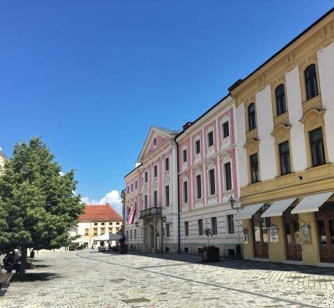 Streets of Varaždin
