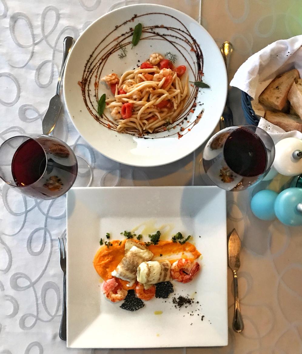 Dinner at La Puntulina